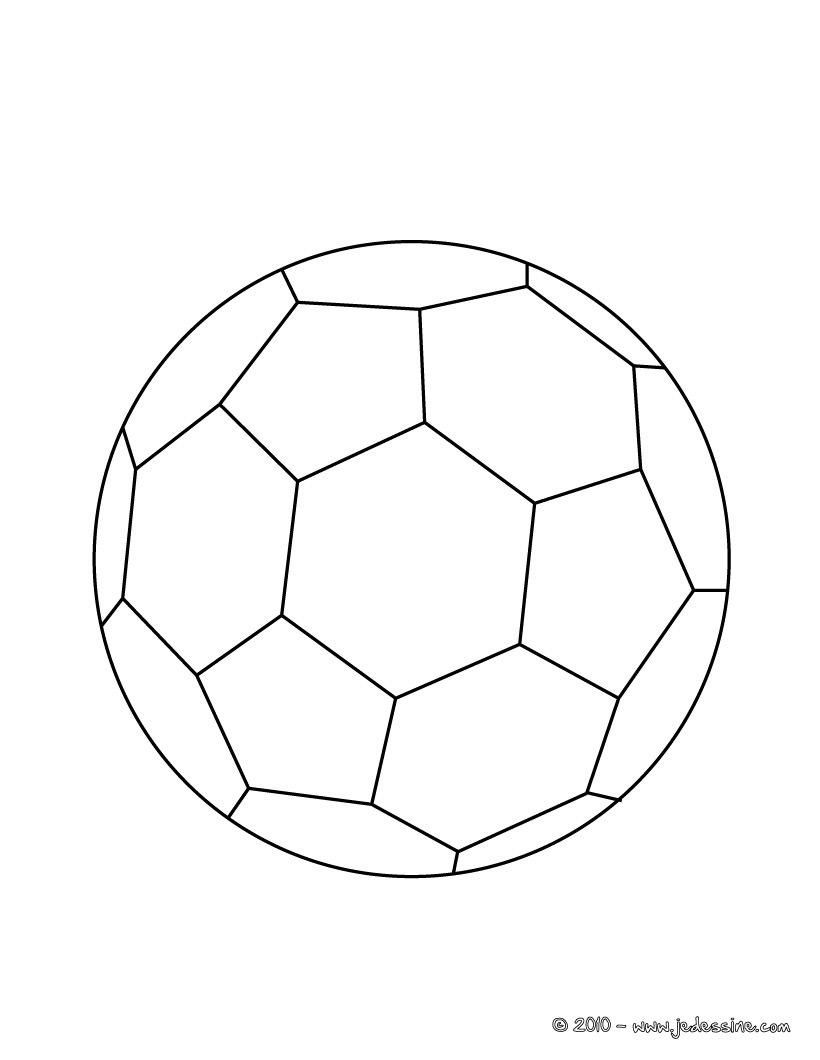 Dessin de ballon de foot 3 - Dessin ballon foot ...