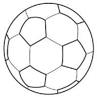 Dessin de ballon de foot 5 - Dessin de ballon de foot ...