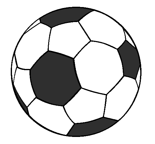 Dessin de ballon de foot 6 - Coloriage ballon foot ...