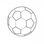 dessin de ballon de foot