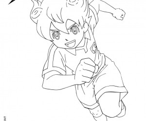 dessin de inazuma eleven go
