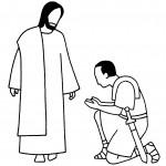 dessin de jesus