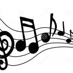 dessin de note de musique
