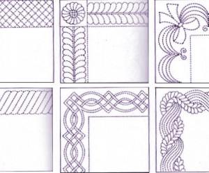 dessin de quilting