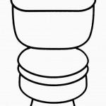 dessin de wc
