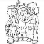 dessin de yakari