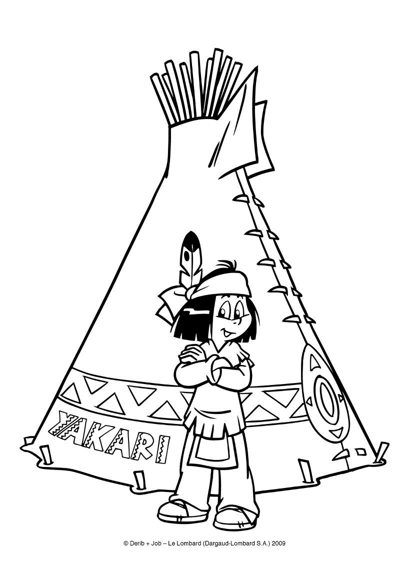 Dessin de yakari 5 - Modele dessin gratuit a imprimer ...