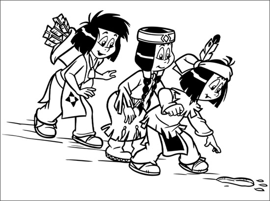 dessin de yakari 9