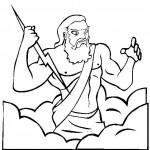 dessin de zeus