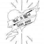 dessin d'un coeur
