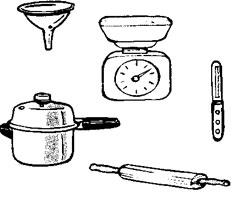 Dessin d 39 ustensiles de cuisine 5 for Ustensile cuisine en ligne