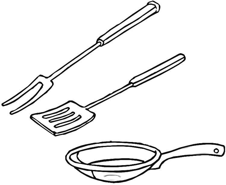 Dessin D Ustensiles De Cuisine 8