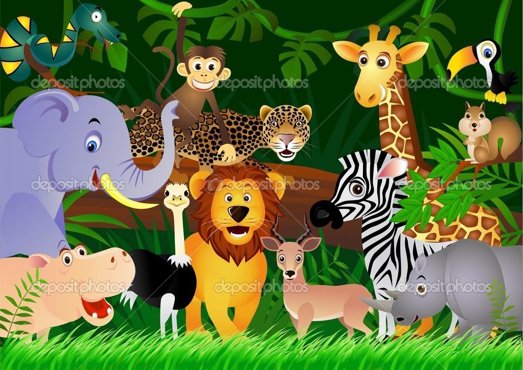 Image Animaux De La Jungle illustration animaux de la jungle (6)