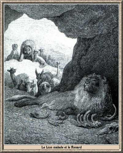 illustration de gustave dore fables