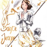 illustration de jeanne d'arc