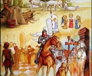 illustration de jeanne d'arc