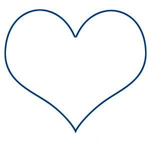 Dessin de coeur 2 - Image de coeur a imprimer ...