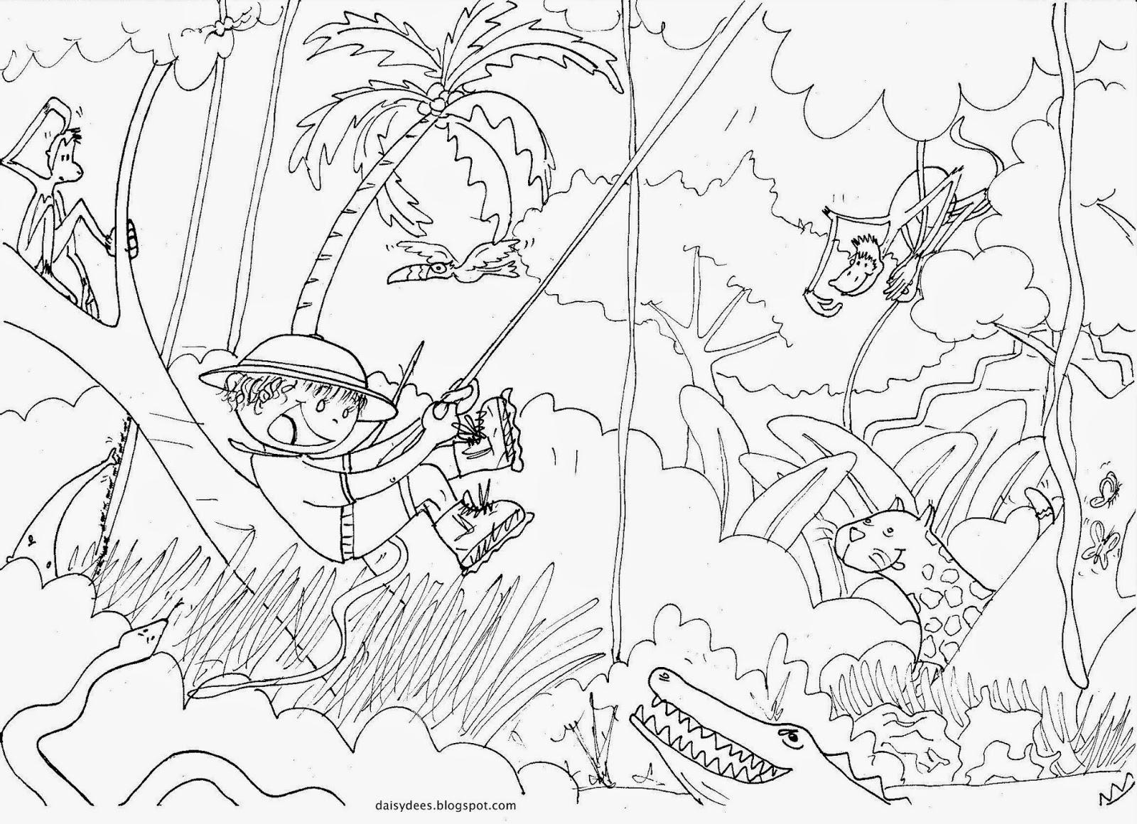 dessin de jungle (3)