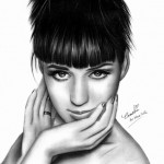 dessin de katy perry
