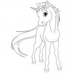 dessin de licorne
