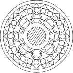 dessin de mandala
