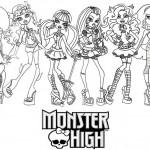 dessin de monster high