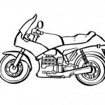 dessin de moto