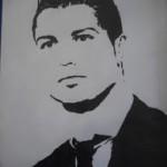 dessin de ronaldo