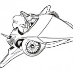 dessin de sonic