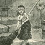 illustration de cosette par emile bayard