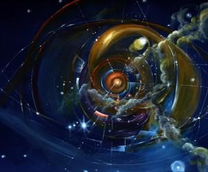 illustration de l univers