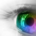 image de yeux