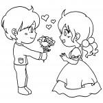 dessin de amoureux