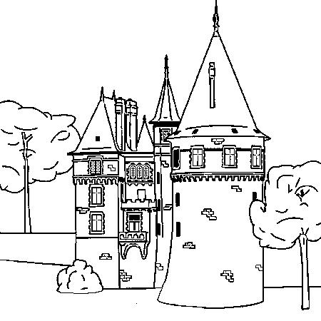 Dessin de chateau 7 - Chateaux dessin ...