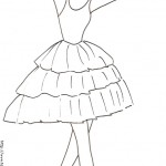 dessin de danseuse
