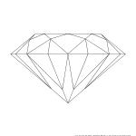 dessin de diamant