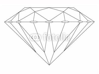 Dessin de diamant 8 - Diamant dessin ...