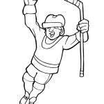 dessin de hockey