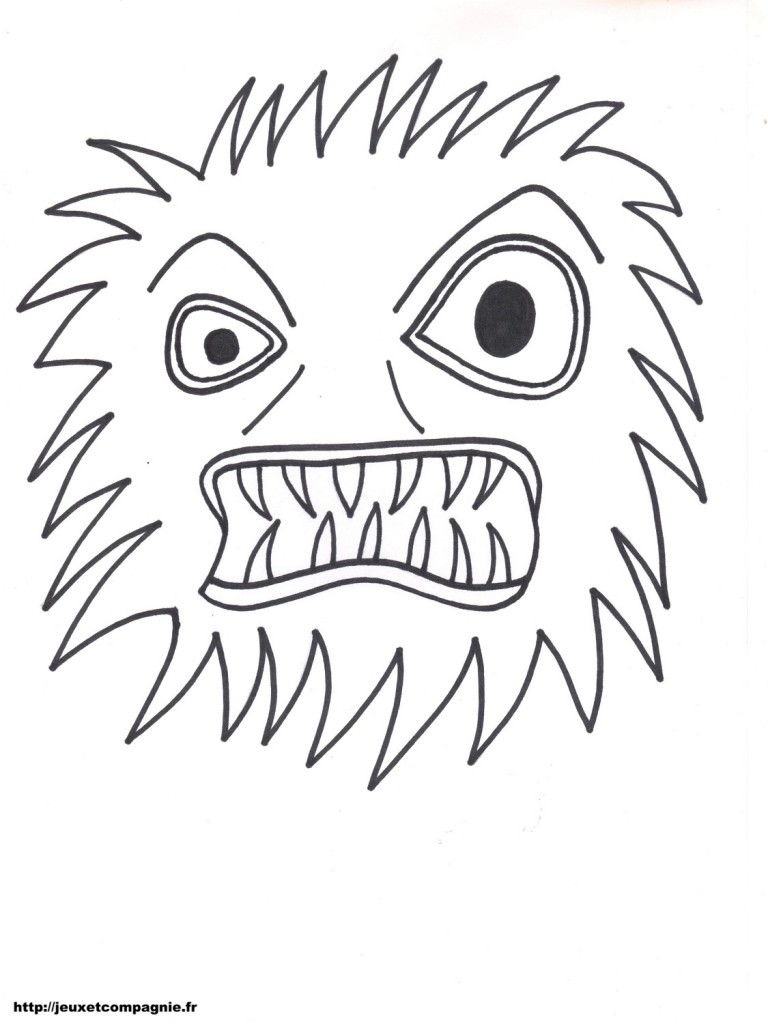 Dessin de monstre 5 - Dessins de monstres ...