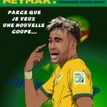 dessin de neymar