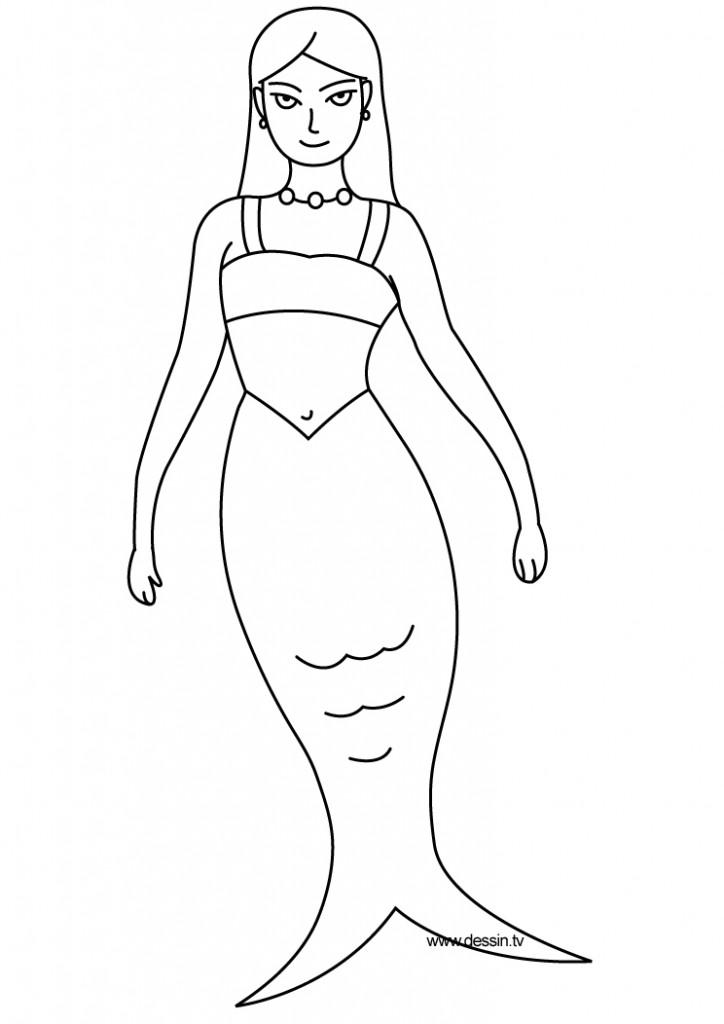 dessin de sirene (8)