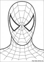 dessin de spiderman