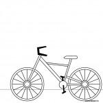 dessin de velo