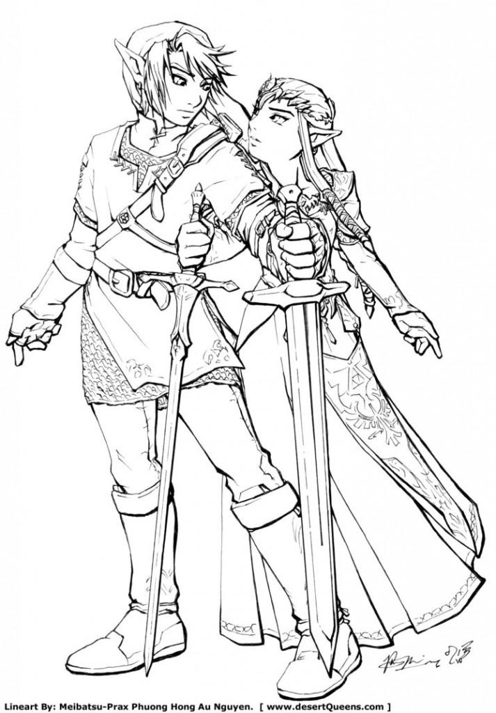 dessin de zelda (8)