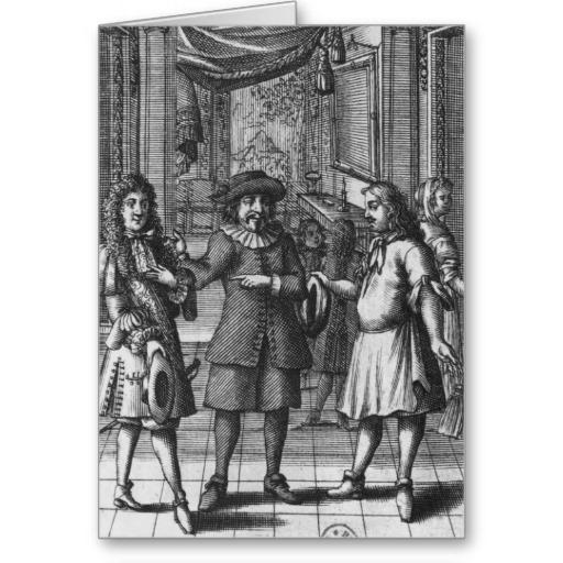 illustration de moliere