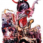 illustration de ralph steadman la ferme des animaux