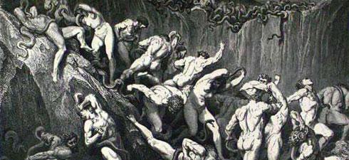 illustration enfer de dante