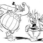 dessin de asterix et obelix
