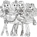 dessin de ever after high
