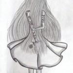 dessin de fille